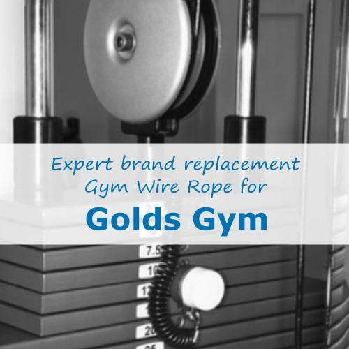Golds Gym Cable Wire Rope