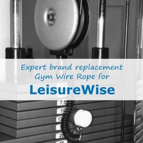 LeisureWise Gym Cable Wire Rope