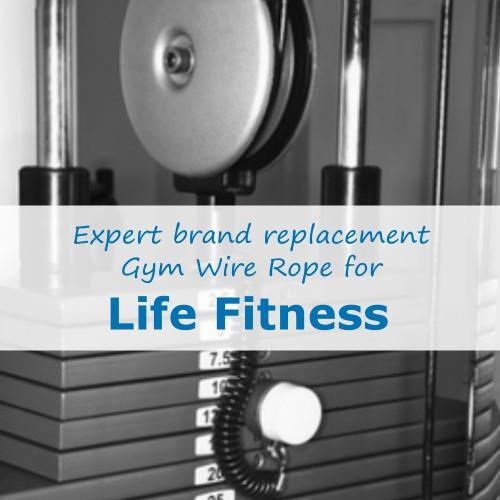 Life Fitness Gym Cable Wire Rope