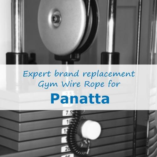 Panatta Gym Cable Wire Rope