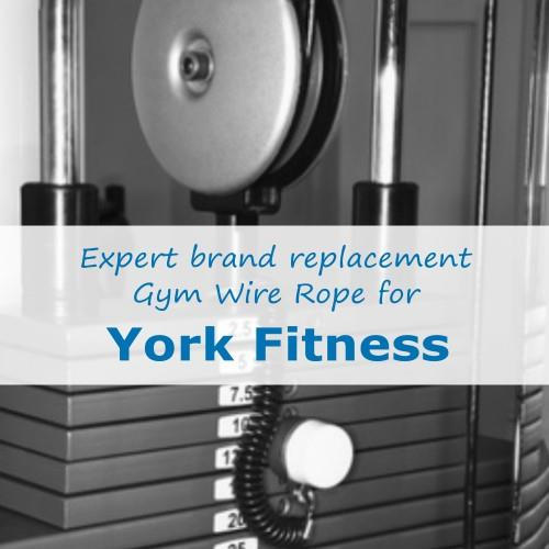 York Fitness Gym Cable Wire Rope