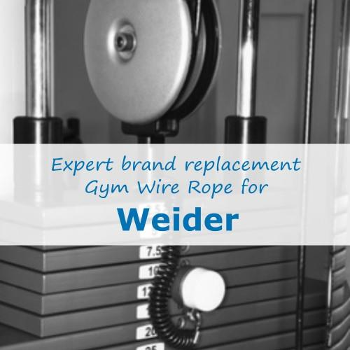 Weider Fitness Gym Cable Wire Rope