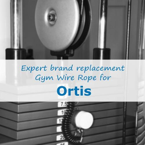 Ortis Fitness Gym Cable Wire Rope
