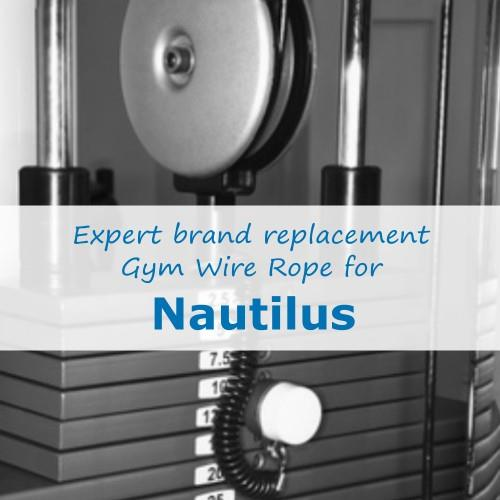 Nautilus Gym Cable Wire Rope