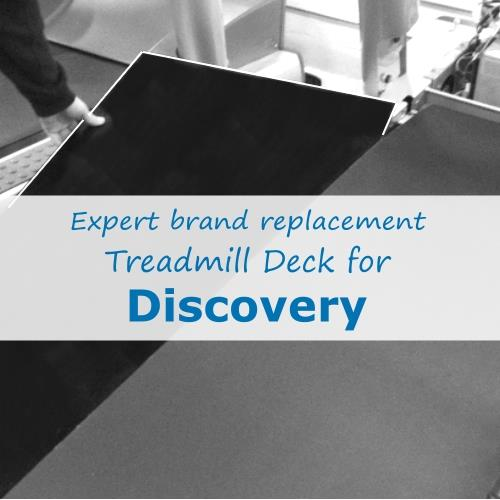 Worn Treadmill Deck: Treadmill Deck With Free Deck Lubricant
