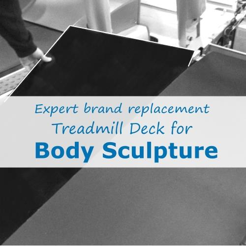 Body Sculpture Treadmill Deck (Expert Brand)
