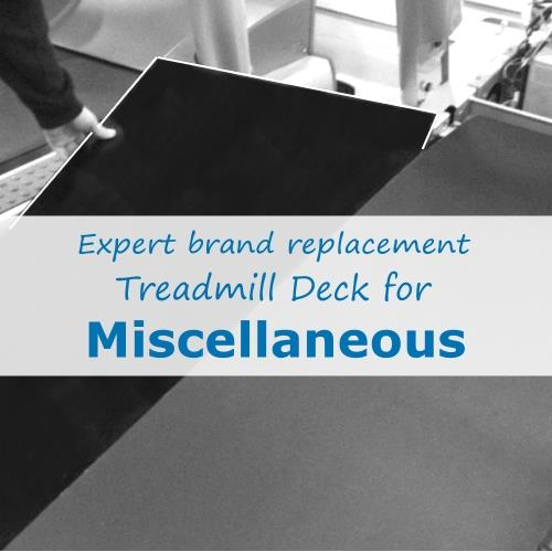Miscellaneous Treadmill Deck (Expert Brand)
