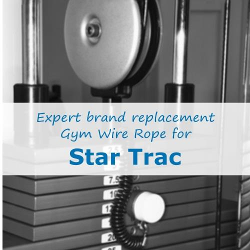 Star Trac Gym Cable Wire Rope