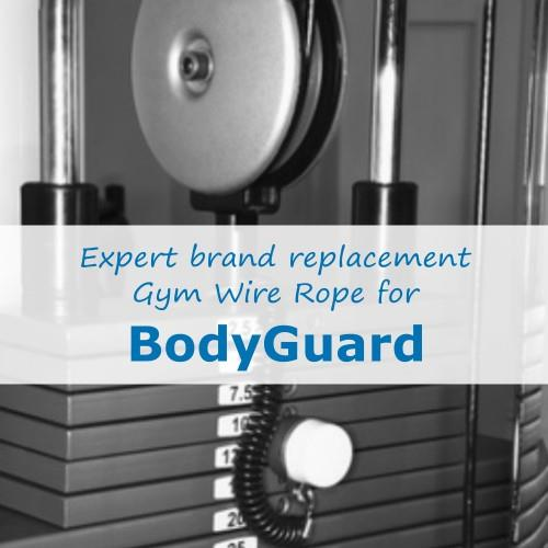 BodyGuard Fitness Gym Cable Wire Rope