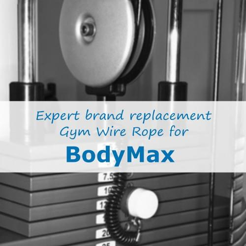 BodyMax Fitness Gym Cable Wire Rope