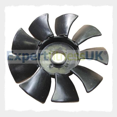Startrac treadmill motor plastic fan blade for Plastic fan blades for electric motors