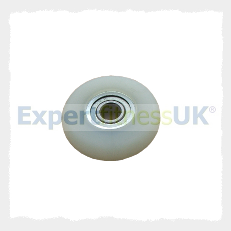 Pu White Roller 42mm Diameter