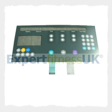 9500 Treadmill Display Overlay Life Fitness TR9100