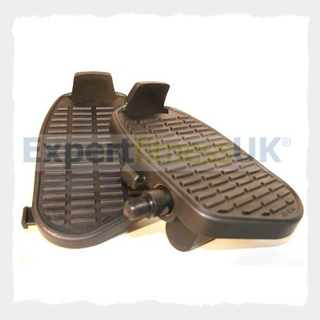 Exercise Bike Pedals With Toe Piece