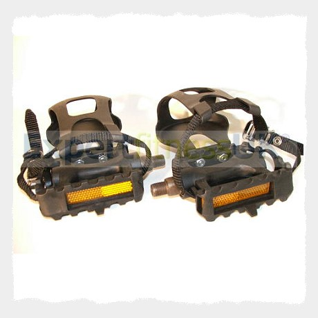 Exercise Bike Pedals Light Use 1 2 Or 9 16 Thread