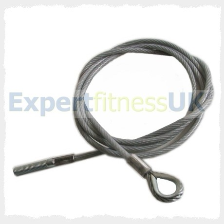 Powersport Multigym Lat Pulldown Gym Cable Wire Rope Used