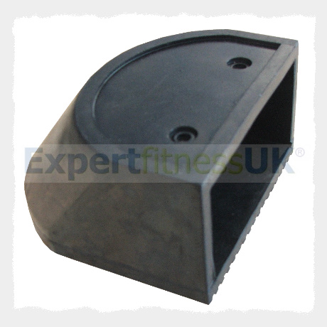 Gym Parts 100mm X 50mm End Cap Rubber Foot