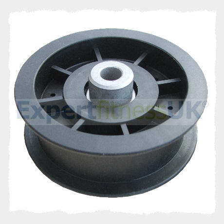 90mm Diameter Gym Wire Flat Belting Pulley